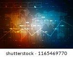 2d rendering stock market... | Shutterstock . vector #1165469770