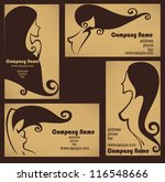 Beauty salon business card free vector art 34312 free downloads vector collection of business cards for beauty salon hairdressers or plastic surgery reheart Image collections