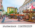 menton  france  june 14  2017 ... | Shutterstock . vector #1165502329