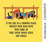 earthquake awareness for...   Shutterstock .eps vector #1165506919