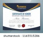 multipurpose professional... | Shutterstock .eps vector #1165515286