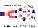 customer retention strategy ... | Shutterstock .eps vector #1165519546