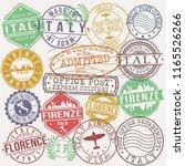 florence italy stamp vector art ... | Shutterstock .eps vector #1165526266
