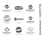 diamonds. vol 2. | Shutterstock .eps vector #116552728