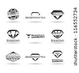 diamonds. vol 1. | Shutterstock .eps vector #116552734