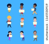 cartoon children. happy kids...   Shutterstock .eps vector #1165530919