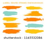 scribble label brush stroke... | Shutterstock .eps vector #1165532086