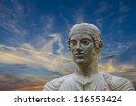 the charioteer of delphi | Shutterstock . vector #116553424
