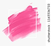 logo brush painted abstract... | Shutterstock .eps vector #1165536733