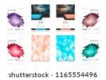 cover design template for... | Shutterstock .eps vector #1165554496
