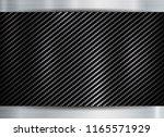 abstract metallic frame carbon... | Shutterstock .eps vector #1165571929