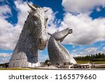 Kelpies At Helix In Scotland ...