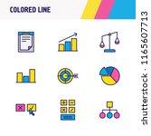 vector illustration of 9... | Shutterstock .eps vector #1165607713