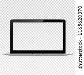 laptop with checkered screen | Shutterstock . vector #1165620370