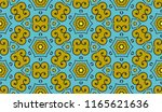 vector seamless textile fabric... | Shutterstock .eps vector #1165621636