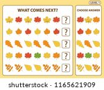 set of tasks for the... | Shutterstock .eps vector #1165621909