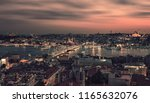 istanbul city viewed from... | Shutterstock . vector #1165632076
