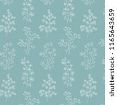 qua white botanical floral... | Shutterstock .eps vector #1165643659