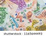 100 200 500 Euro Banknote As...