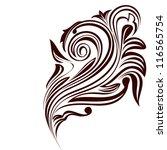 abstract swirl element   Shutterstock .eps vector #116565754