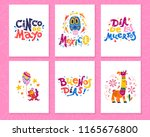 vector collection of cards with ...   Shutterstock .eps vector #1165676800