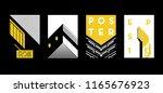 architecture conceptual... | Shutterstock .eps vector #1165676923