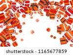 big vector set of gift boxes... | Shutterstock .eps vector #1165677859