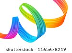 modern colorful flow abstract... | Shutterstock .eps vector #1165678219