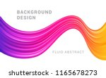 modern colorful flow abstract... | Shutterstock .eps vector #1165678273
