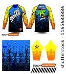 long sleeve motocross jerseys t ...   Shutterstock .eps vector #1165683886