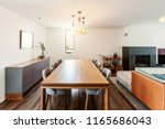furniture in living room... | Shutterstock . vector #1165686043