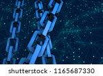 block chain concept.... | Shutterstock . vector #1165687330