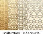seamless set geometrics pattern.... | Shutterstock .eps vector #1165708846