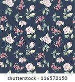 wallpaper seamless vintage pink ... | Shutterstock .eps vector #116572150