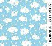 seamless pattern background ...   Shutterstock .eps vector #1165738570