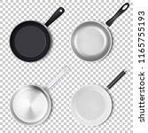 vector realistic 3d empty black ... | Shutterstock .eps vector #1165755193