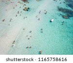 aerial view of relaxed people... | Shutterstock . vector #1165758616