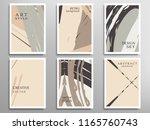 creative artistic backgrounds... | Shutterstock .eps vector #1165760743