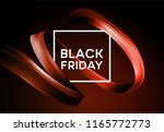 black friday sale banner with... | Shutterstock .eps vector #1165772773