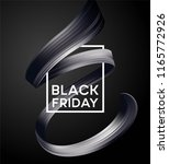 black friday sale banner with... | Shutterstock .eps vector #1165772926