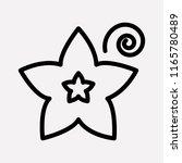 vanilla icon line element.... | Shutterstock .eps vector #1165780489