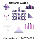 infographic elements  business... | Shutterstock .eps vector #1165784629