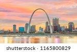 st. louis downtown city...   Shutterstock . vector #1165800829