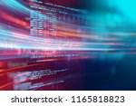 programming code abstract... | Shutterstock . vector #1165818823