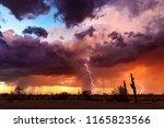 Lightning Bolts Strike From A...