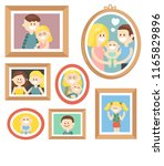 vector collection of various... | Shutterstock .eps vector #1165829896