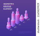 vector isometric design of... | Shutterstock .eps vector #1165829929