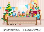 colorful vector flat style... | Shutterstock .eps vector #1165829950