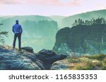 travel hiking  active vacations ... | Shutterstock . vector #1165835353