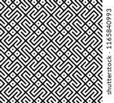 squares  zigzag lines pattern.... | Shutterstock .eps vector #1165840993